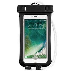 Coque Pochette Etanche Waterproof Universel pour Samsung Galaxy Note 5 N9200 N920 N920F Noir