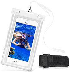 Coque Pochette Etanche Waterproof Universel W03 pour Orange Dive 72 Blanc