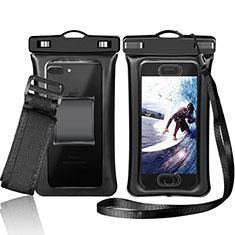 Coque Pochette Etanche Waterproof Universel W05 pour Huawei Enjoy 9 Plus Noir