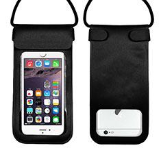 Coque Pochette Etanche Waterproof Universel W10 pour Samsung Galaxy Note 5 N9200 N920 N920F Noir