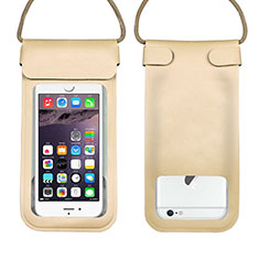 Coque Pochette Etanche Waterproof Universel W10 Or