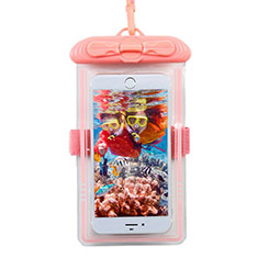 Coque Pochette Etanche Waterproof Universel W11 pour Orange Dive 72 Rose