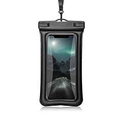 Coque Pochette Etanche Waterproof Universel W12 pour Samsung Galaxy Note 5 N9200 N920 N920F Noir