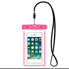 Coque Pochette Etanche Waterproof Universel W16 pour Orange Dive 72 Rose