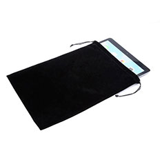Coque Pochette Velour pour Samsung Galaxy Tab S 8.4 SM-T705 LTE 4G Noir