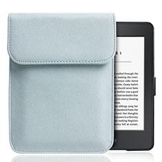 Coque Pochette Velour S01 pour Amazon Kindle Paperwhite 6 inch Bleu Ciel