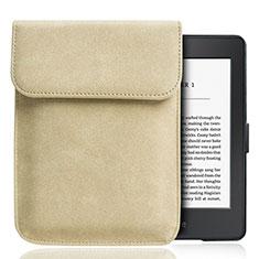 Coque Pochette Velour S01 pour Amazon Kindle Paperwhite 6 inch Or