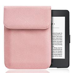 Coque Pochette Velour S01 pour Amazon Kindle Paperwhite 6 inch Rose