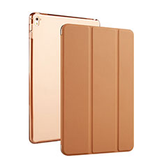 Coque Portefeuille Cuir Bequille pour Apple iPad Pro 9.7 Marron