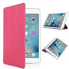 Coque Portefeuille Cuir Mat pour Apple iPad Pro 9.7 Rouge