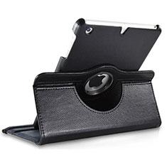 Coque Portefeuille Cuir Rotatif pour Apple iPad Mini 2 Noir