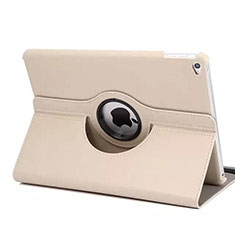 Coque Portefeuille Cuir Rotatif pour Apple iPad Mini 4 Or Rose
