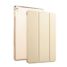 Coque Portefeuille Cuir Stand pour Apple iPad Pro 9.7 Or