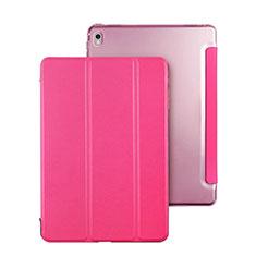 Coque Portefeuille Flip Cuir pour Apple iPad Pro 9.7 Rose Rouge