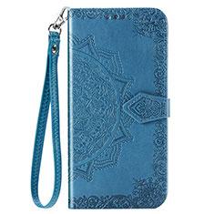 Coque Portefeuille Livre Cuir Etui Clapet C01 pour Xiaomi Redmi Note 9 Bleu