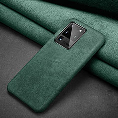 Coque Portefeuille Livre Cuir Etui Clapet C02 pour Samsung Galaxy S20 Ultra 5G Vert
