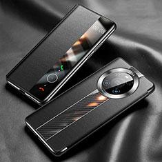 Coque Portefeuille Livre Cuir Etui Clapet K05 pour Huawei Mate 40 Pro Noir