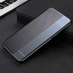 Coque Portefeuille Livre Cuir Etui Clapet K09 pour Huawei Mate 40 Pro Noir