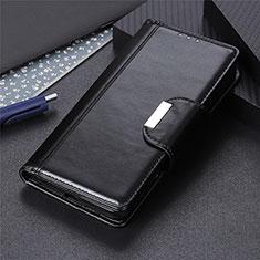 Coque Portefeuille Livre Cuir Etui Clapet L01 pour Apple iPhone 12 Max Noir