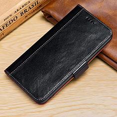 Coque Portefeuille Livre Cuir Etui Clapet L01 pour Apple iPhone XR Noir