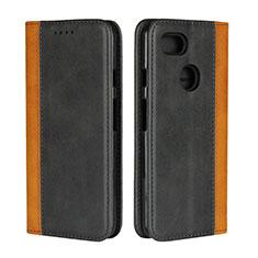 Coque Portefeuille Livre Cuir Etui Clapet L01 pour Google Pixel 3 XL Noir