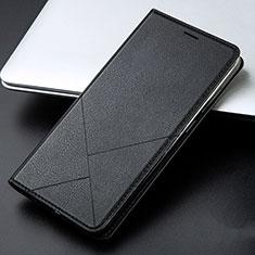 Coque Portefeuille Livre Cuir Etui Clapet L01 pour Huawei Honor 9 Lite Noir