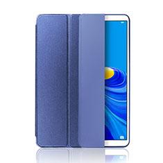 Coque Portefeuille Livre Cuir Etui Clapet L01 pour Huawei MatePad 10.8 Bleu