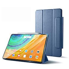 Coque Portefeuille Livre Cuir Etui Clapet L01 pour Huawei MatePad Pro 5G 10.8 Gris Lavende