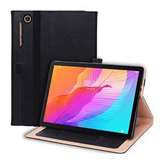 Coque Portefeuille Livre Cuir Etui Clapet L01 pour Huawei MatePad T 10s 10.1 Noir