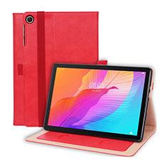 Coque Portefeuille Livre Cuir Etui Clapet L01 pour Huawei MatePad T 10s 10.1 Rouge