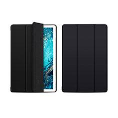Coque Portefeuille Livre Cuir Etui Clapet L01 pour Huawei MediaPad M6 10.8 Noir