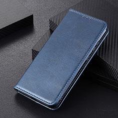 Coque Portefeuille Livre Cuir Etui Clapet L01 pour Huawei P Smart (2020) Bleu