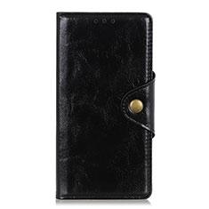 Coque Portefeuille Livre Cuir Etui Clapet L01 pour Huawei Y8p Noir