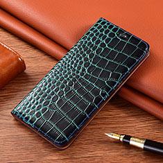Coque Portefeuille Livre Cuir Etui Clapet L01 pour Motorola Moto E7 Plus Bleu