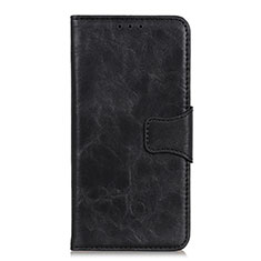 Coque Portefeuille Livre Cuir Etui Clapet L01 pour Motorola Moto G Pro Noir