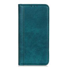 Coque Portefeuille Livre Cuir Etui Clapet L01 pour Motorola Moto G9 Plus Vert