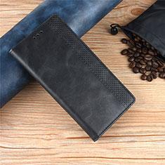 Coque Portefeuille Livre Cuir Etui Clapet L01 pour Motorola Moto One Zoom Noir
