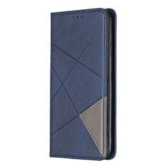 Coque Portefeuille Livre Cuir Etui Clapet L01 pour Sony Xperia L4 Bleu