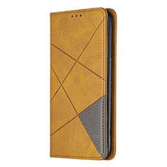 Coque Portefeuille Livre Cuir Etui Clapet L01 pour Sony Xperia L4 Jaune