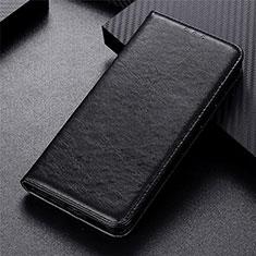 Coque Portefeuille Livre Cuir Etui Clapet L01 pour Vivo Y12s Noir