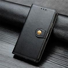 Coque Portefeuille Livre Cuir Etui Clapet L01 pour Xiaomi Mi Note 10 Lite Noir