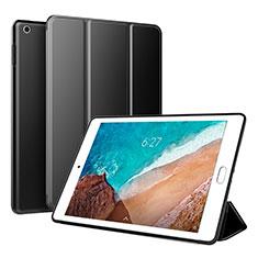 Coque Portefeuille Livre Cuir Etui Clapet L01 pour Xiaomi Mi Pad 4 Noir