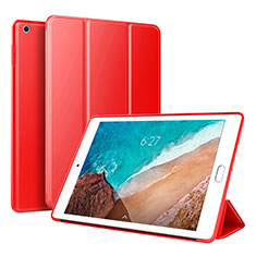 Coque Portefeuille Livre Cuir Etui Clapet L01 pour Xiaomi Mi Pad 4 Rouge