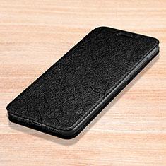 Coque Portefeuille Livre Cuir Etui Clapet L01 pour Xiaomi Redmi Note 7 Noir