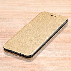 Coque Portefeuille Livre Cuir Etui Clapet L01 pour Xiaomi Redmi Note 7 Or
