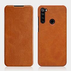 Coque Portefeuille Livre Cuir Etui Clapet L01 pour Xiaomi Redmi Note 8T Marron