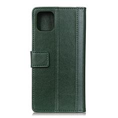 Coque Portefeuille Livre Cuir Etui Clapet L02 pour Google Pixel 4 Vert
