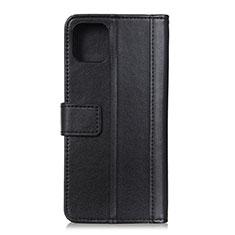Coque Portefeuille Livre Cuir Etui Clapet L02 pour Google Pixel 4 XL Noir