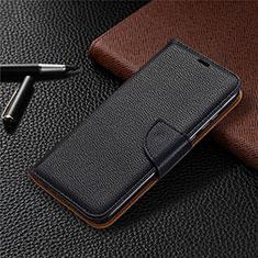 Coque Portefeuille Livre Cuir Etui Clapet L02 pour Huawei Honor 9A Noir