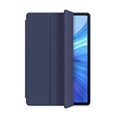 Coque Portefeuille Livre Cuir Etui Clapet L02 pour Huawei Honor Pad V6 10.4 Bleu